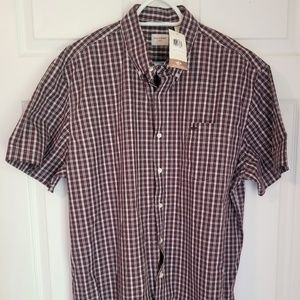Dockers Button Down NWT XLT Multicolored Plaids